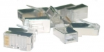 Assmann Shielded RJ45 Cat6, universal solid / stranded 8P8C 100p