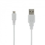 4world Cable USB 2.0 MICRO 5pin, AM / B MICRO transfer/charge 1.0m white