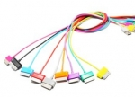4world Cable USB 2.0 for Galaxy Tab transfer/charge 1.0m black