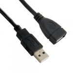 4world Extension cord USB 2.0 type A-A M/F 1.8m