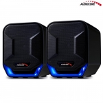Audiocore Computer speakers 6W USB AC865B Blue Black