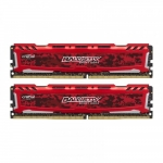Ballistix DDR4 Sport LT 8GB(2*4GB)/2666 CL16 SR x8 Red