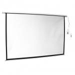 ART Electric Screen 100'' 16:9 221x125 matte white with remote control