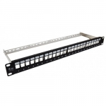 Alantec Patch Panel empty 24 ports with support PK020