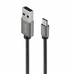 Acme europe Cable USB Type-C(M) - USB Type-A(M) CB2041G 1m space gray