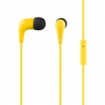 Acme europe Earphones with microphone HE15Y yellow