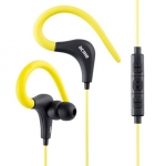 Acme europe Earphones with microphone HE17Y sport, yellow