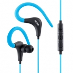 Acme europe Earphones with microphone HE17B sport, blue