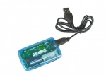 4world Universal memory card reader USB 2.0