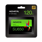 Adata SSD Ultimate SU650 120G 2.5 S3 3D TLC Retail