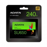 Adata SSD Ultimate SU650 240G 2.5 S3 3D TLC Retail