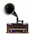 Camry Turntable with tube wit h CD/MP3/USB/rec CR1160