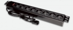 "Alantec Power Strip 19 ""- 9x230V - plug UPS - C14"