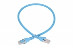 Extralink LAN Patchcord CAT.6A S/FTP 1m 10G Shielded Foiled Twisted Pair