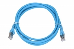 Extralink LAN Patchcord CAT.6A S/FTP 2m 10G Shielded Foiled Twisted Pair