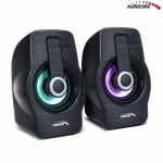 Audiocore Computer Speakers 6W USB Black AC855B