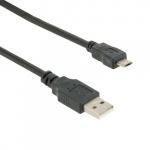 4world Cable icro USB 1.8m black