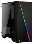 Aerocool Case Cylon Mini Black Glass USB3.0
