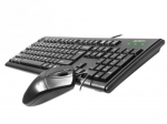 A4 tech Keyboard + mouse set KM-72620D USB Black
