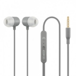 Acme europe HE21G Earphones with mic, in-ear, grey