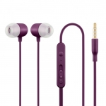Acme europe HE21P Earphones with mic.,in-ear,violet
