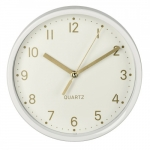 Hama Desk clock Golden Hama quiet white