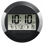 Hama DCF Radio Wall clock Hama PP-245 black