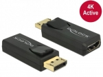 Delock Adapter Displayport 1.2 (M)->HDMI(F) 4K Active