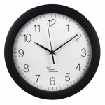Hama Radio wall clock Hama DCF PG-300 black
