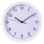 Hama Wall clock Hama PURE 25 cm quiet white