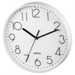 Hama Wall clock Hama PG-220 low-noise white