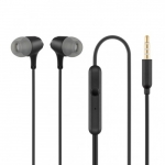 Acme europe Earphones with mic., in-ear, black HE22