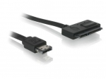 Delock Cable Power Over eSATA > SATA 22 pin 0.5 m