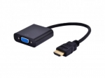 Gembird Adapter HDMI-A(M)->VGA (F)+with Audio
