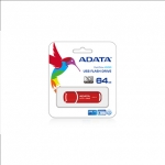 A-data DashDrive UV150 64GB Red USB 3.0 Flash Drive, Retail