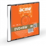 Acme DVD+RW disks 4,7GB 4X Slim kastītē