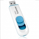 Adata A-DATA 8GB USB 2.0 Flash Drive C008, white+blue