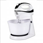 Adler AD 4206 Mixer with bowl, 5 speed, Turbo buton, 300W, White