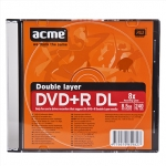 "Acme DVD+R, ""DOUBLE LAYER"", 8.5 GB"