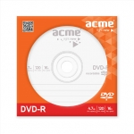 Acme DVD-R 16X  120 min / 4.7 GB, Paper sleeve