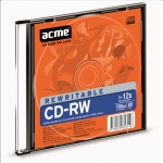 Acme Rewritable CD-RW disc, 80 min / 700 Mb GB