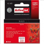 Activejet Action ActiveJet AC-40R (Canon PG-40,PG-50) Ink Cartridge, Black