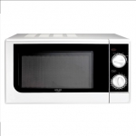 Adler Microwave oven  AD 6203 20 L, Mechanical, 700 W, White, Defrost fun