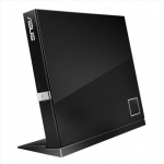 Asus SBC-06D2X-U External Slim Blu-ray read Drive,  Black, BDXL support,