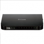 D-link DSR-150, Unified services router, 1 10/100 Base-TX WAN Ports, 8 10