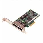 Dell Broadcom 5719 Quad Port 1 Gigabit Network Interface Card Full Height