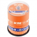 Acme CD-R 0.7 GB, 52 x, 100 Pcs. Cake Box