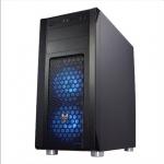 Fortron CMT230 Side window, Black, ATX, Power supply included No