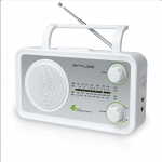 Muse M-05SW White, 4-band portable radio, AUX in