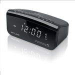 Muse Clock radio  M-16CR Black, Display : 0,6 inches white LED